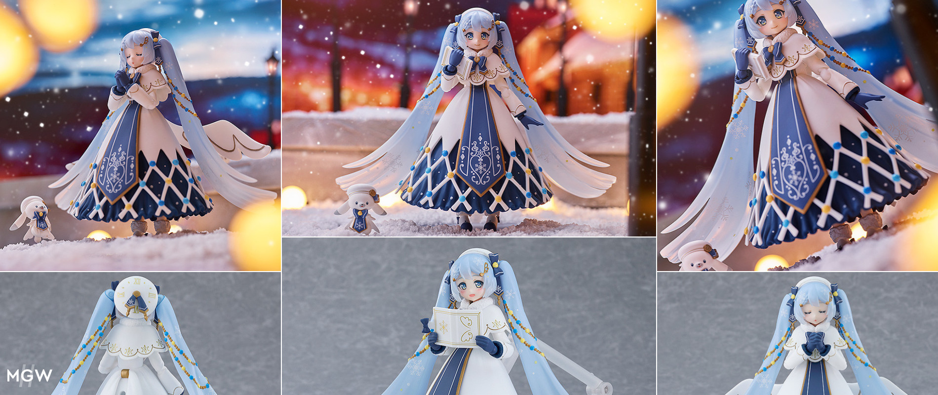 figma Snow Miku Glowing Snow Ver. by Max Factory MyGrailWatch Anime Figure Guide