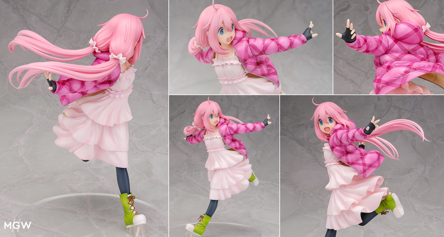Kagamihara Nadeshiko by WING from Yuru Camp MyGrailWatch Anime Figure Guide