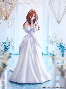 Nakano Miku Wedding Ver. by AMAKUNI from The Quintessential Quintuplets 12 MyGrailWatch Anime Figure Guide