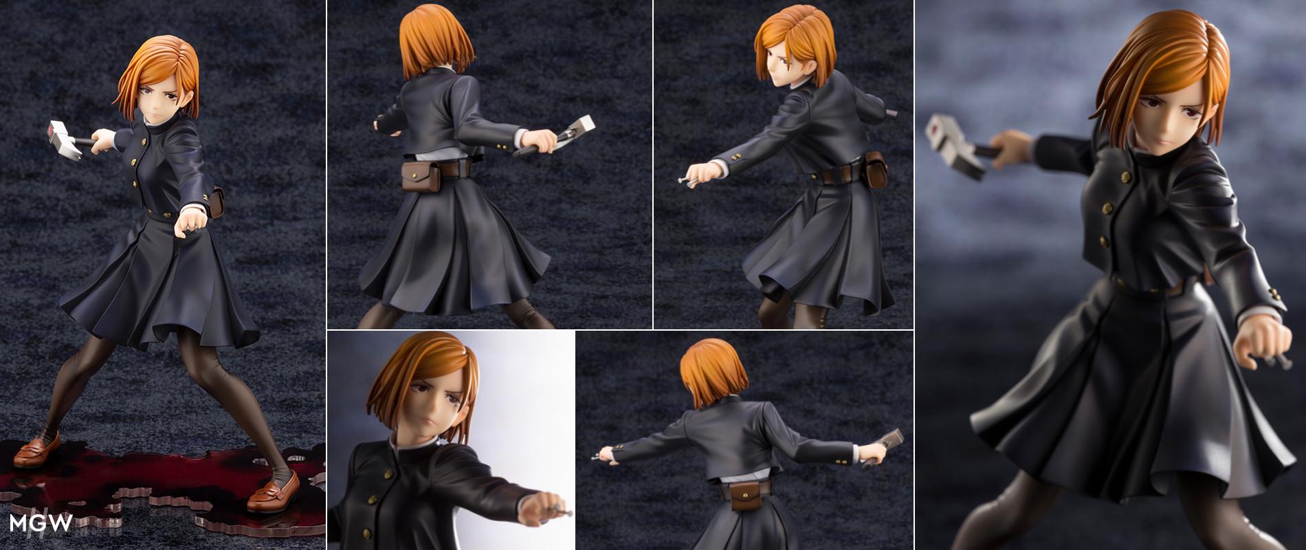 ARTFX J Kugisaki Nobara by Kotobukiya from Jujutsu Kaisen MyGrailWatch Anime Figure Guide