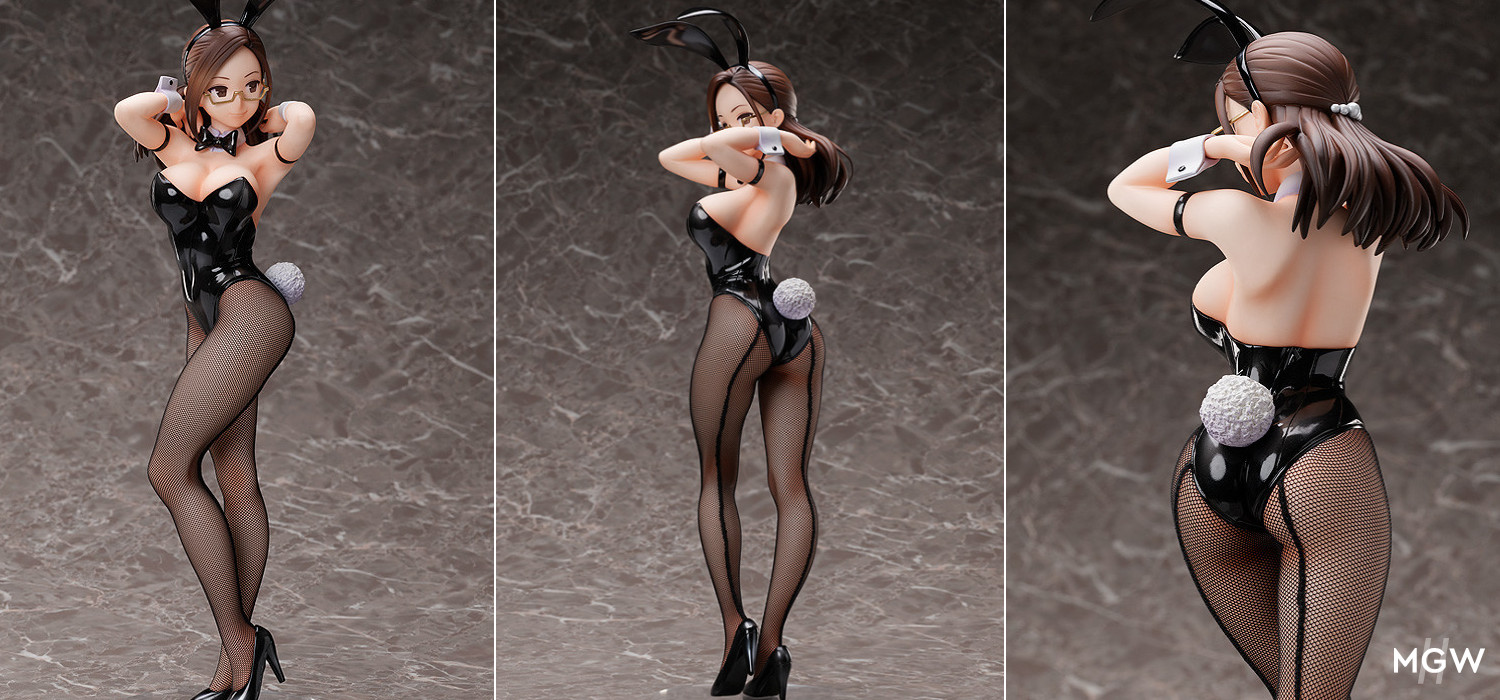 B style Okuzumi Yuiko Bunny Ver. by FREEing with illustration by Yom MyGrailWatch Anime Figure Guide