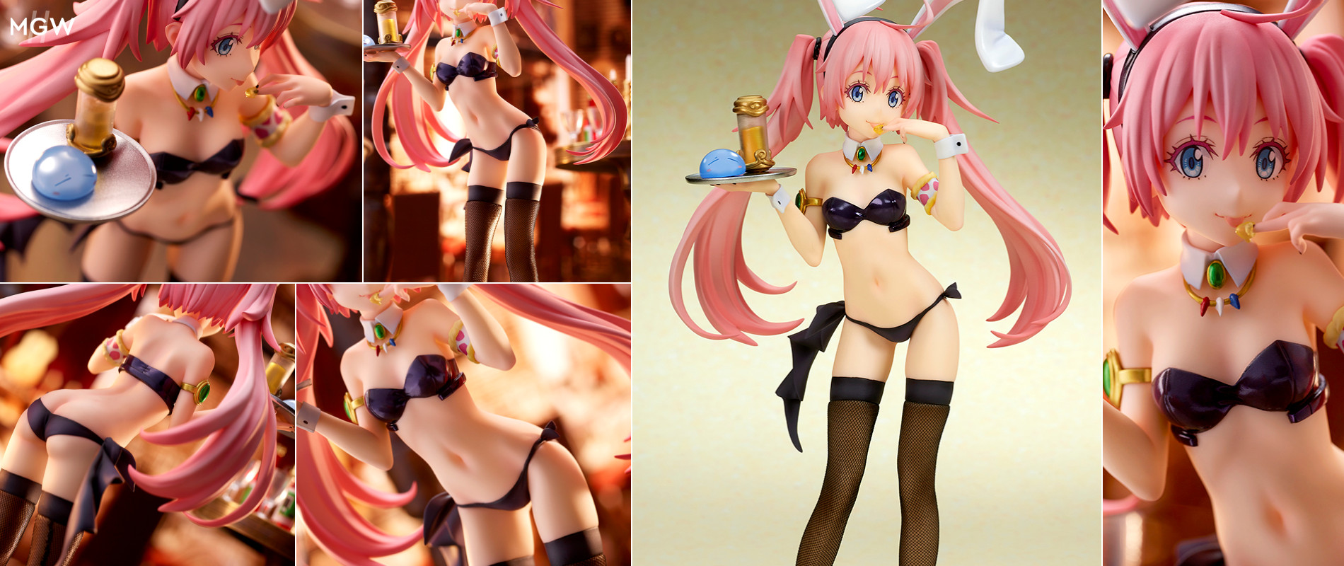 Milim Nava Bunny Girl Style by quesQ from Tensura MyGrailWatch Anime Figure Guide