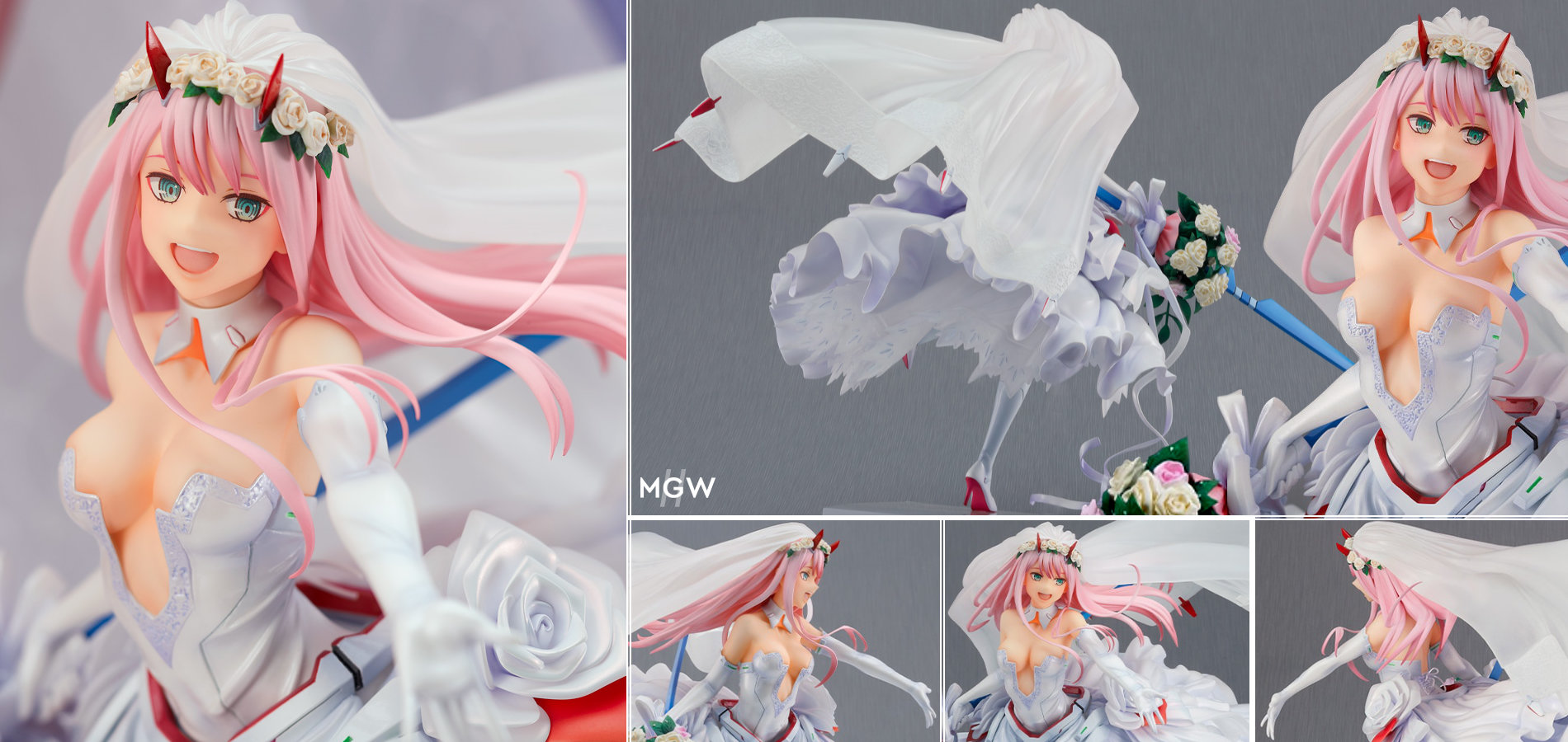 Zero Two For My Darling by Good Smile Company from DARLING in the FRANXX MyGrailWatch Anime Figure Guide