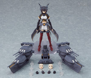 figma Nagato Kai Ni by Max Factory from Kantai Collection KanColle 9 MyGrailWatch Anime Figure Guide