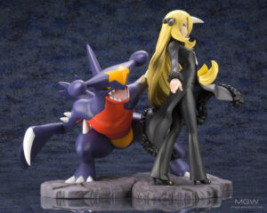 ARTFX J Cynthia with Garchomp by Kotobukiya from Pokemon 2 MyGrailWatch Anime Figure Guide