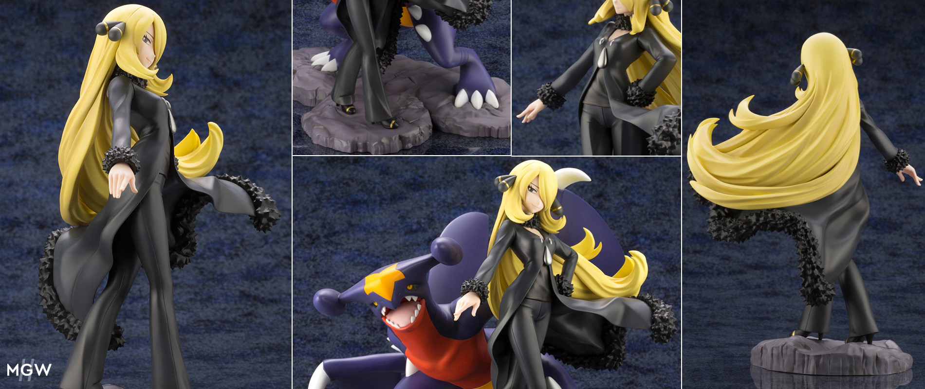ARTFX J Cynthia with Garchomp by Kotobukiya from Pokemon MyGrailWatch Anime Figure Guide