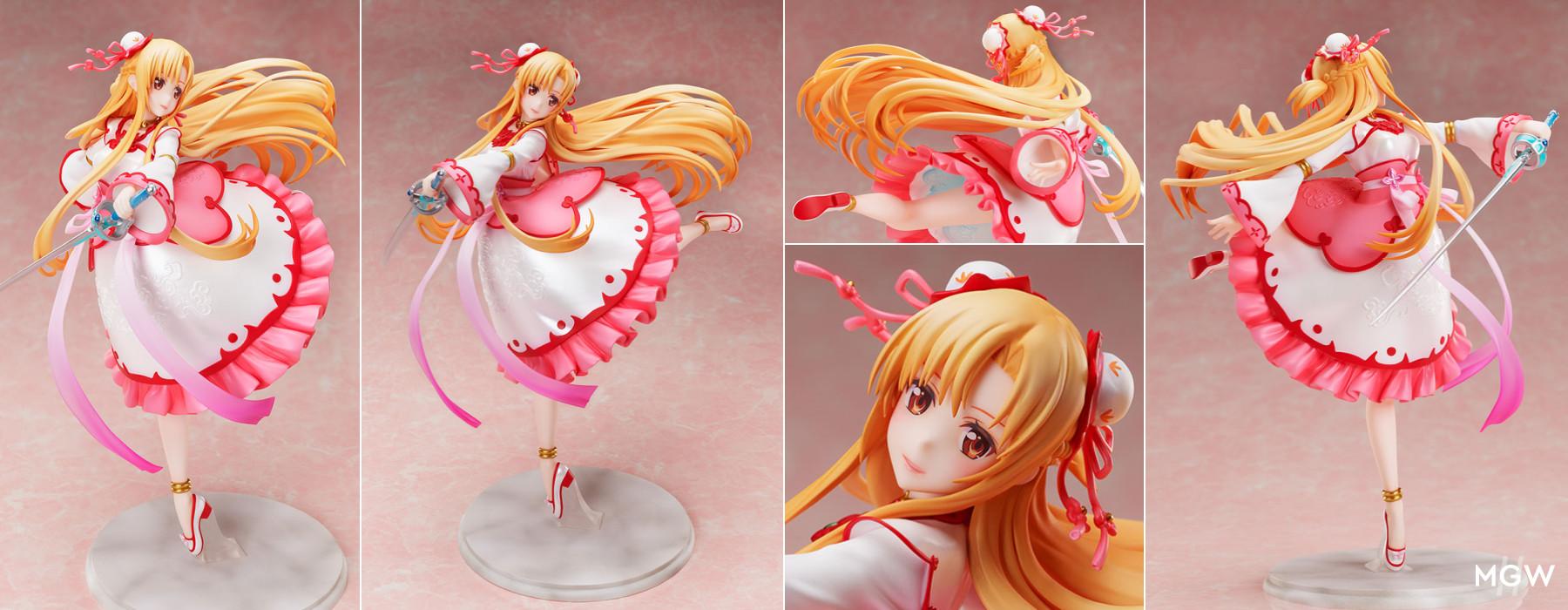 Asuna China Dress ver. by FuRyu from Sword Art Online MyGrailWatch Anime Figure Guide