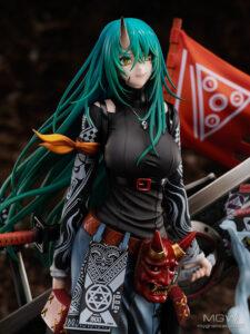 HYPERGRYPH x FNEX Hoshiguma Sasurai no Hatajirushi from Arknights 6 MyGrailWatch Anime Figure Guide