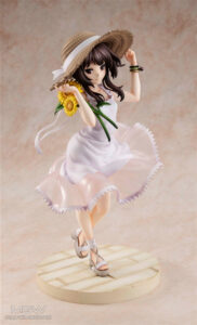 Megumin Sunflower One Piece Dress Ver. by KADOKAWA from KonoSuba 2 MyGrailWatch Anime Figure Guide