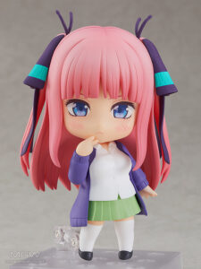 Nendoroid Nakano Nino by Good Smile Company from The Quintessential Quintuplets 1 MyGrailWatch Anime Figure Guide
