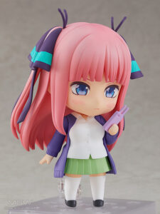 Nendoroid Nakano Nino by Good Smile Company from The Quintessential Quintuplets 2 MyGrailWatch Anime Figure Guide
