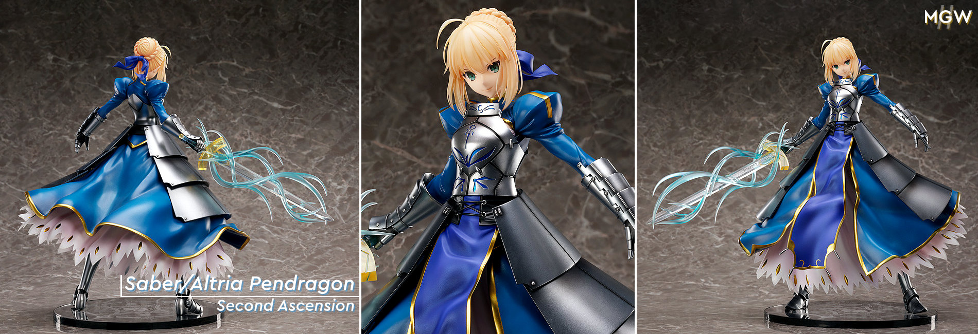 Saber Altria Pendragon Second Ascension by FREEing from Fate Grand Order MyGrailWatch Anime Figure Guide