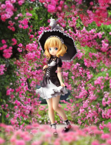 Syaro Goth Loli Ver. by BellFine from Is the Order a Rabbit BLOOM 9 MyGrailWatch Anime Figure Guide