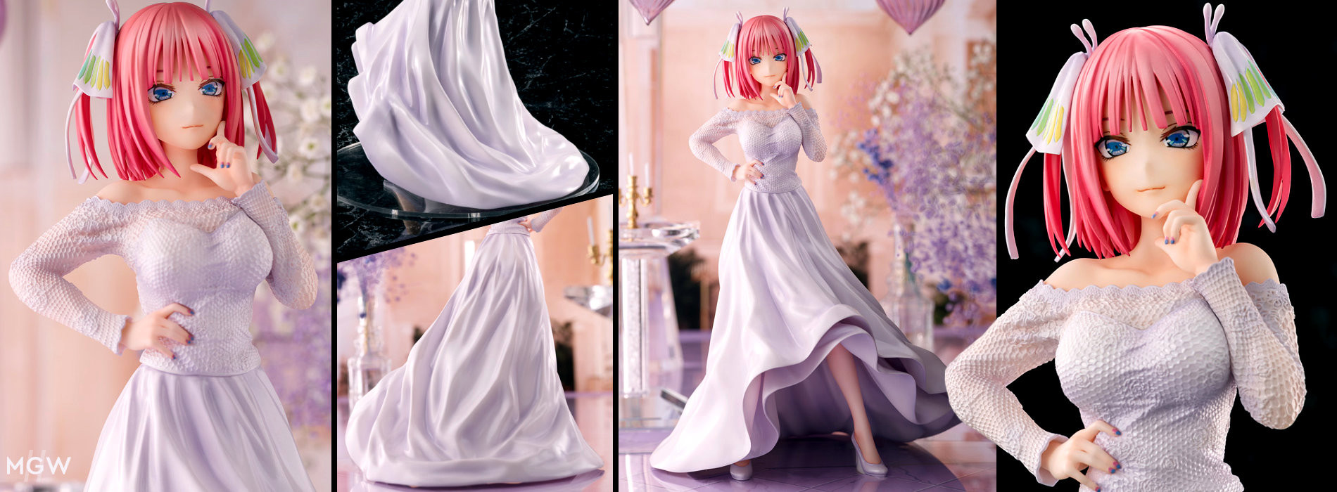 Nakano Nino Wedding Ver. by AMAKUNI from The Quintessential Quintuplets MyGrailWatch Anime Figure Guide