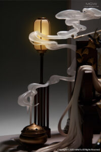 Genshin Impact Ningguang Gold Leaf and Pearly Jade Ver. by miHoYo x APEX 9 MyGrailWatch Anime Figure Guide