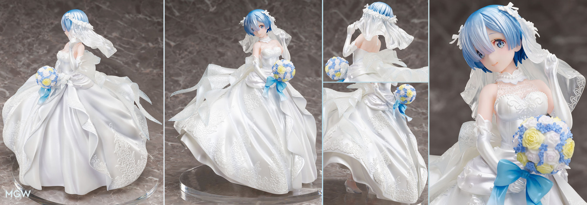Rem Wedding Dress by FuRyu from ReZERO Starting Life in Another World MyGrailWatch Anime Figure Guide